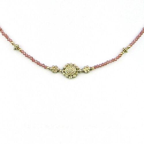 Edelstein Halskette antike Perle