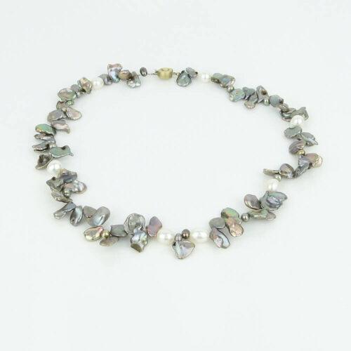 Halskette Keishi-Perle