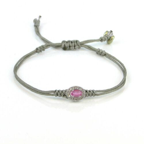 Edelstein Armband eleganter Rubin