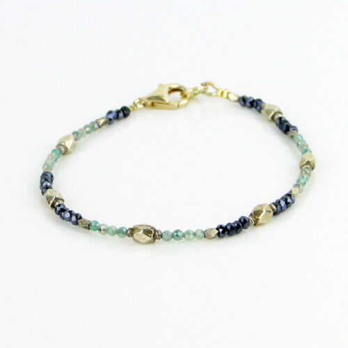 Edelstein Armband grüner Granat
